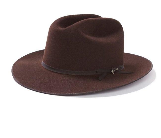 Open Road 6X Cowboy Hat Chocolate