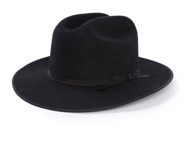 Open Road 6X Cowboy Hat  Black