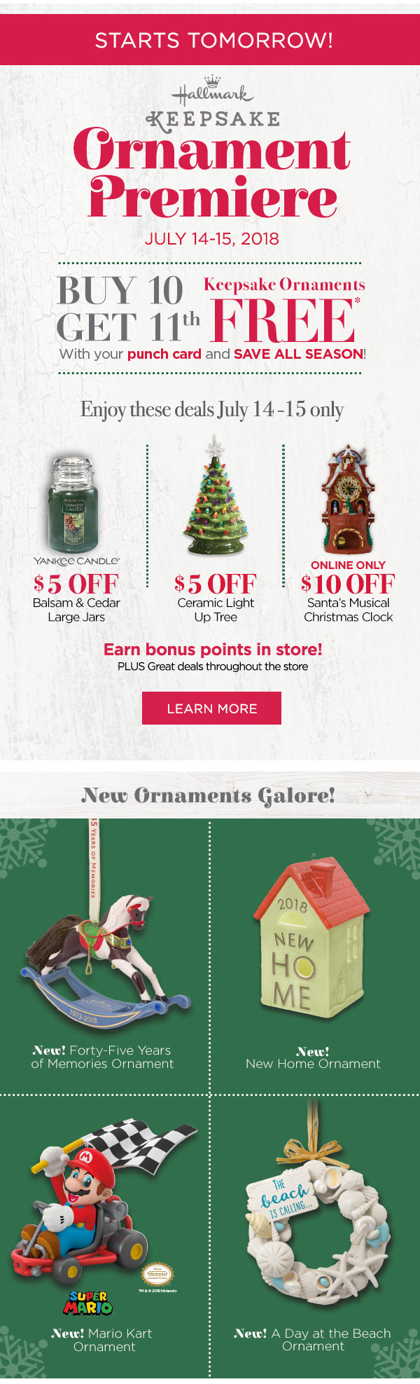The Paper Store: It\'s Christmas in July | Save 30%*! | Milled