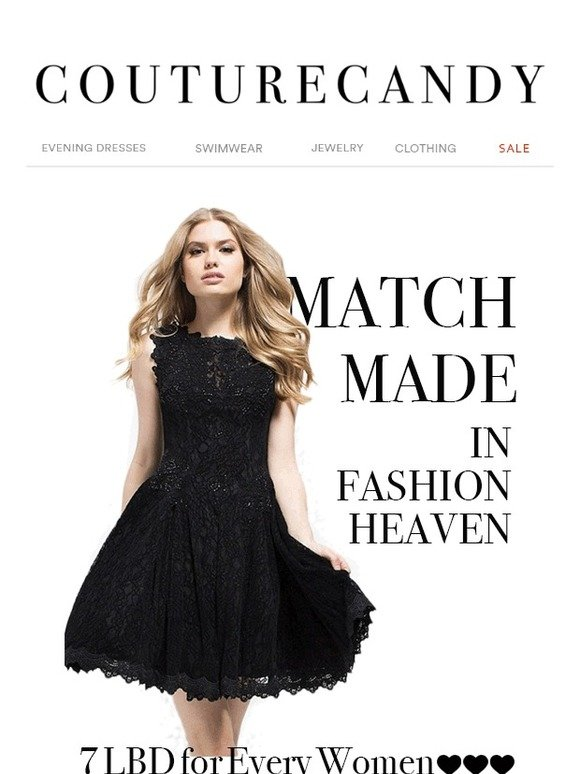 Couturecandy Match Made In Fashion Heaven 7 Perfect Little Black Dresses For Every Woman Milled