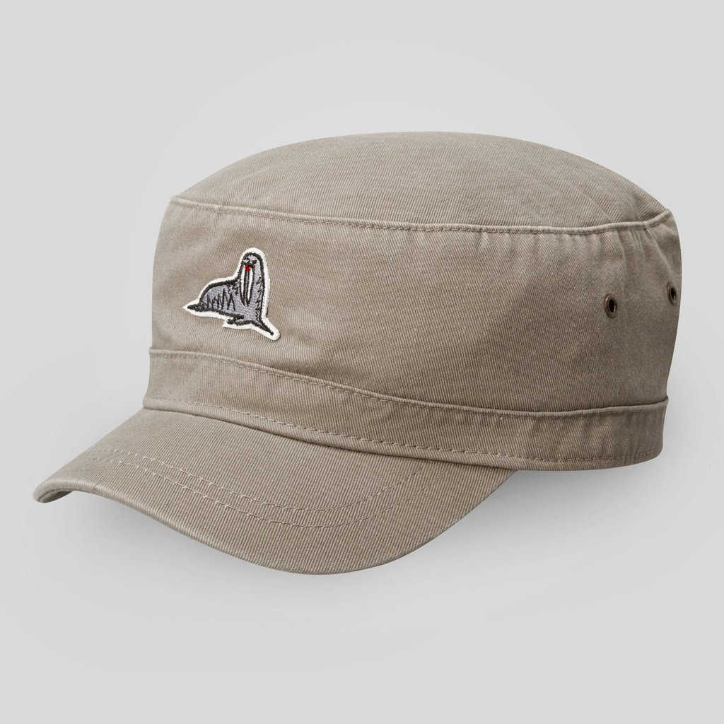 RENE CADET CAP IN KHAKI