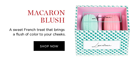 MACARON BLUSH  A sweet French treat that brings a flush of color to your cheeks.  SHOP NOW