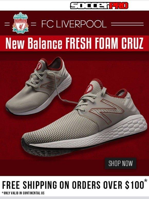 LFC x New Balance Fresh Foam Cruz Shoes