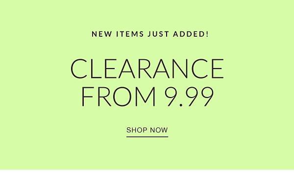 clearance 9.99