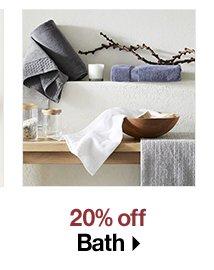 20% off Bath