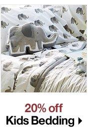 20% off Kids Bedding