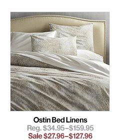 Ostin Bed Linens Reg. $34.95$159.95 Sale $27.96$127.96