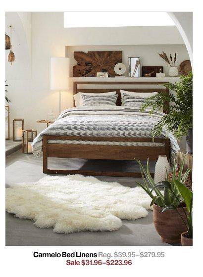 Carmelo Bed Linens Reg. $39.95$279.95 Sale $31.96$223.96