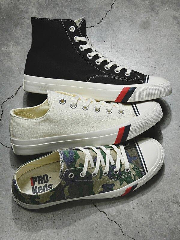Casual Footwear feat. Pro-KEDS - SHOP NOW