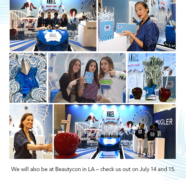 DID YOU KNOW MUGLER WAS AT BEAUTYCON NY?