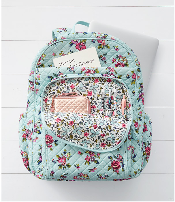 Iconic XL Campus Backpack in Water Bouquet