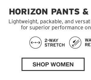 SHOP WOMEN'S HORIZON