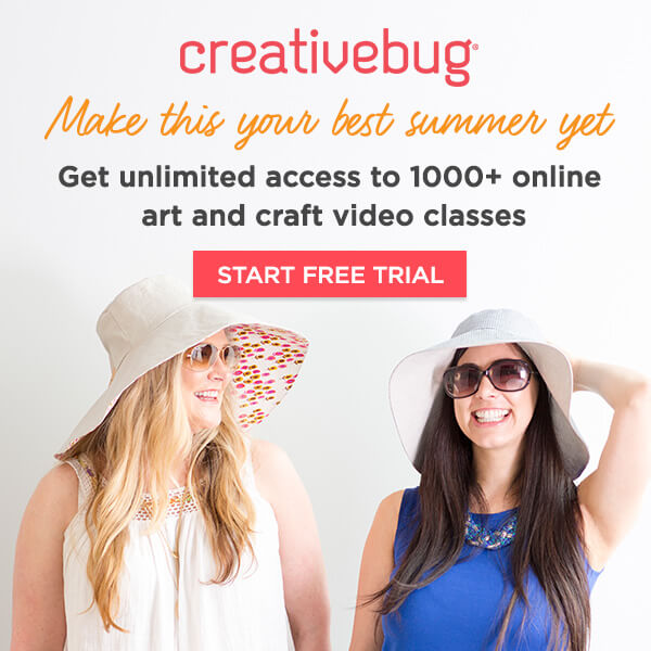 Creativebug. Get unlimited access to 1000+ online art and craft video classes. START FREE TRIAL.
