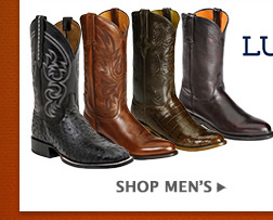 All Mens Lucchese Boots on Sale