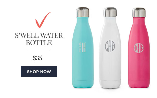 SWELL WATER BOTTLE - $35 - SHOP NOW