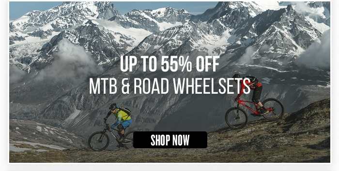 Up to 55% Off MTB & Road Wheelsets