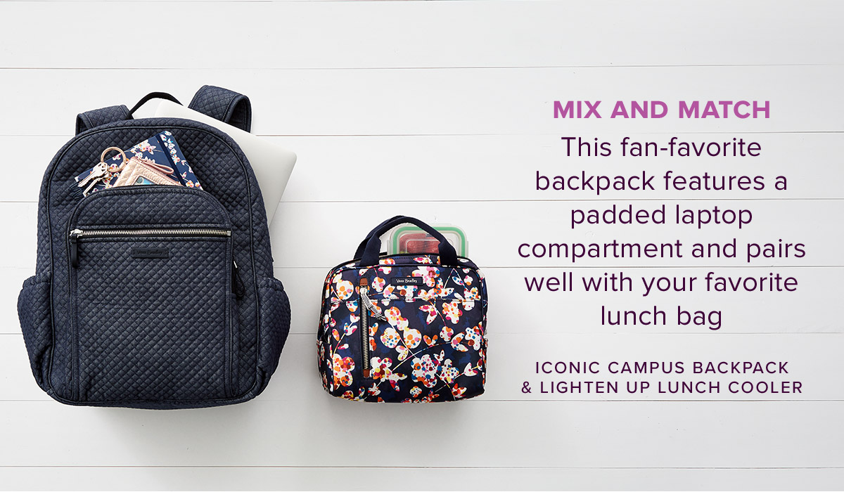 Iconic Campus Backpack in Denim Navy