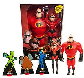Disney Pixar Incredibles 2 Power Couple 30cm