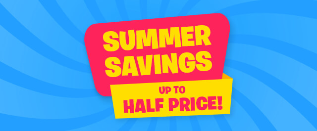 Up to HALF PRICE on selected Toys!