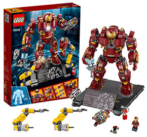 LEGO 76105 Marvel Super Heroes The Hulkbuster: Ultron Edition
