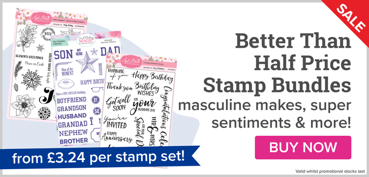 Better Than Half Price Stamp Bundles!