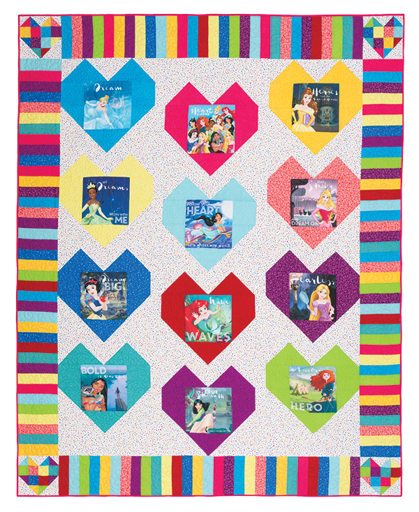 Disney Princess Dreams Quilt