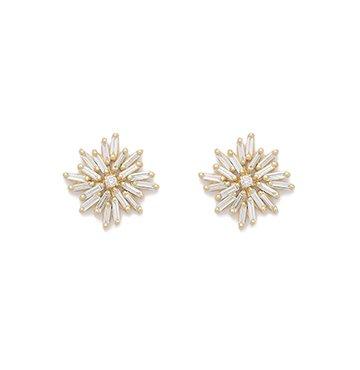 Suzanne Kalan Diamond Firework Stud Earrings $2,800