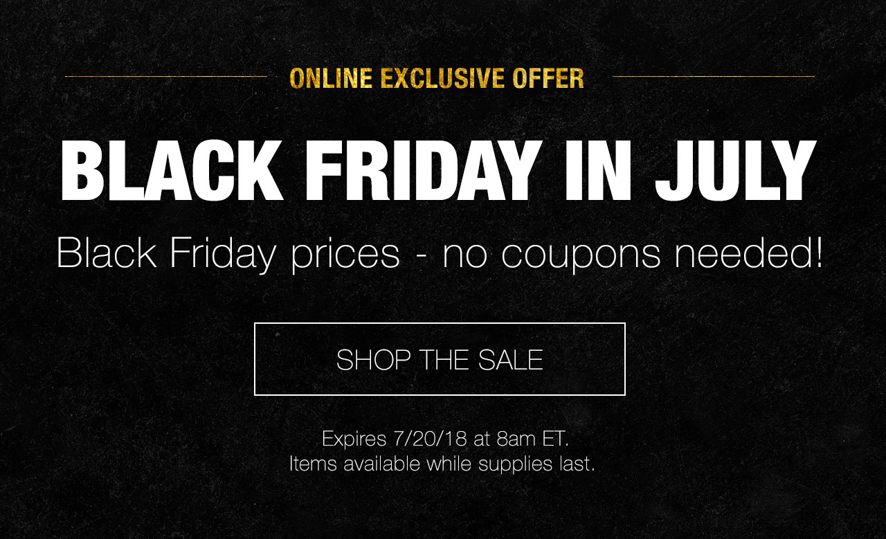 Corelle: Online Exclusive - Black Friday In July | Milled