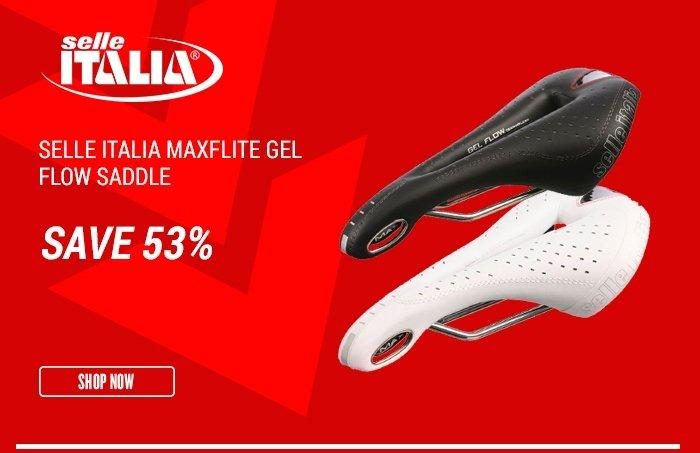 Selle Italia Maxflite Gel Flow Saddle