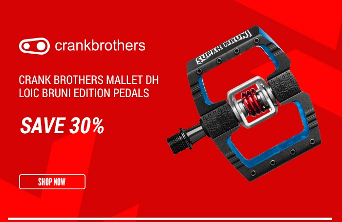 Crank Brothers Mallet DH Loic Bruni Edition Pedals