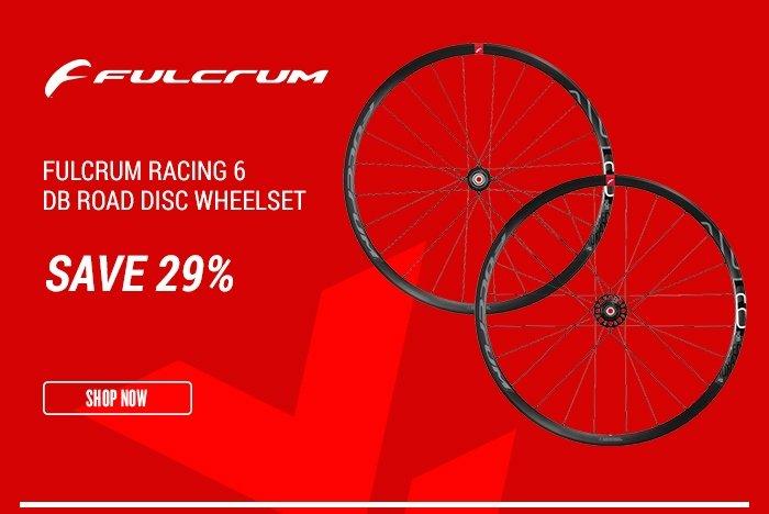 Fulcrum Racing 6 DB Road Disc Wheelset