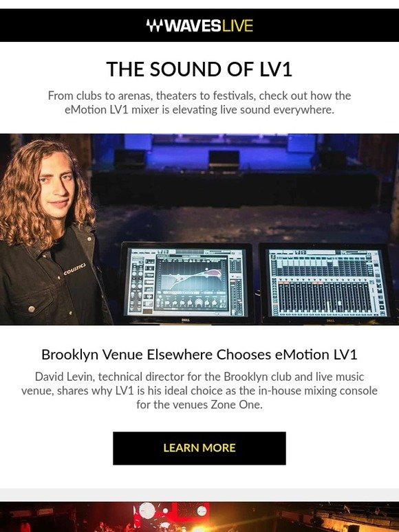 Waves Audio: Learn how sound engineers are using eMotion LV1