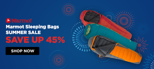 Marmot Sleeping Bags Summer Sale