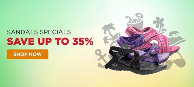 Sandals Specials