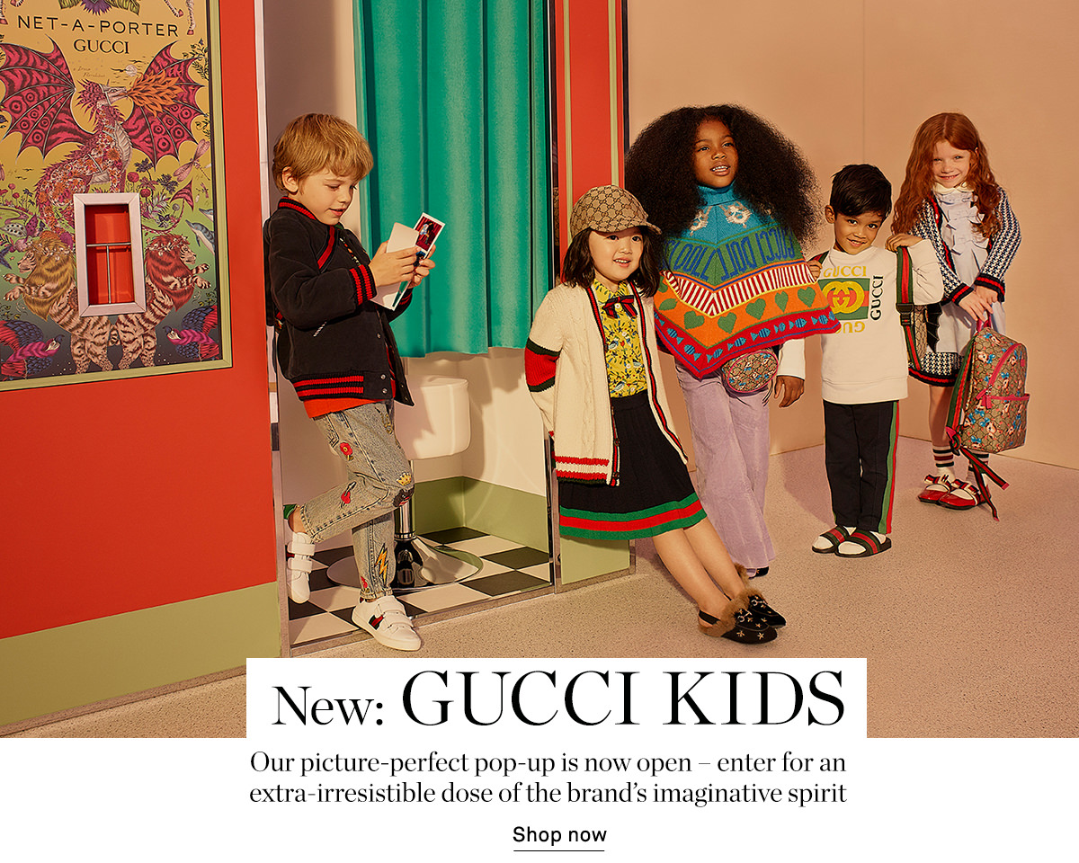 4ab15583045 Net-A-Porter  Gucci Kids is here – prepare for a large dose of ...