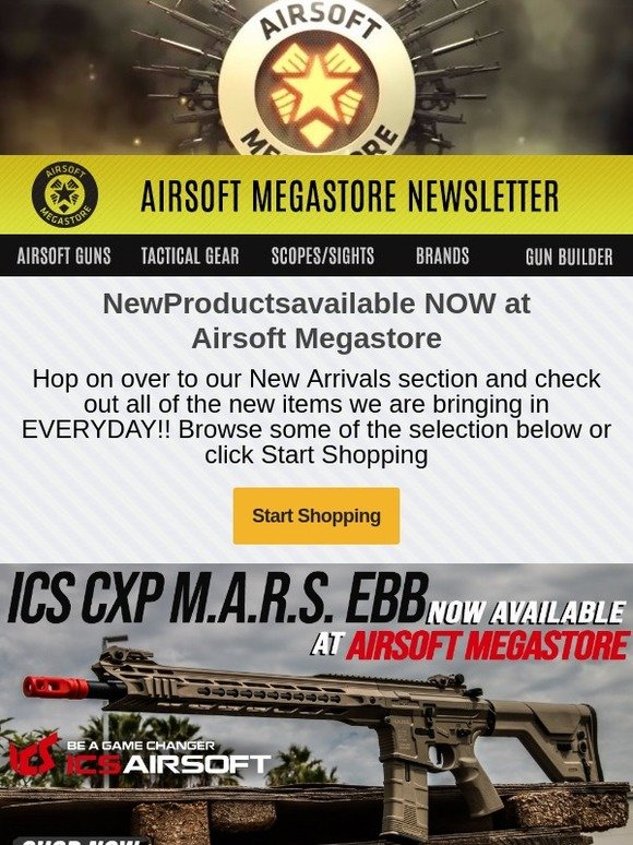 airsoftmegastore com new items now available at airsoft megastore