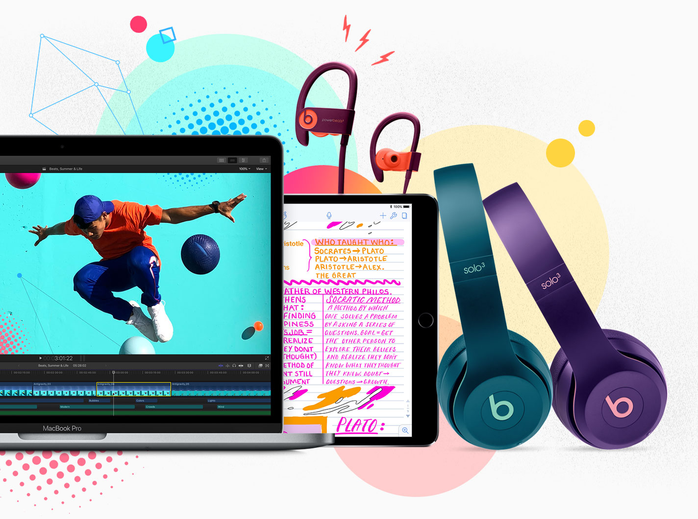 b4eca095a09 Get Apple education pricing on a Mac or iPad Pro for college. We'll supply  you with a pair of Beats in exclusive Pop Collection colors.