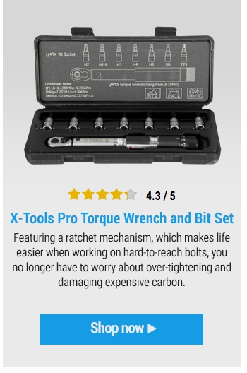 X-Tools Pro Torque Wrench and Bit Set