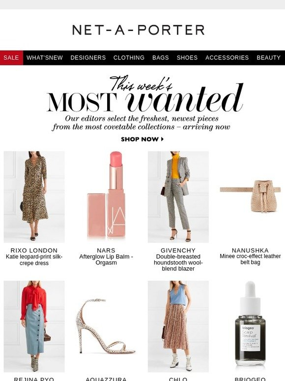 Net-A-Porter: 12 new pieces that will instantly update your closet | Milled