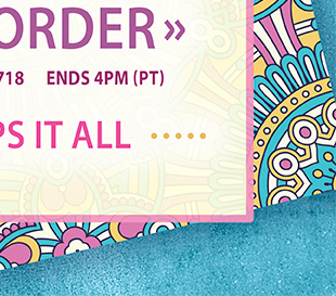 6 HOUR FLASH SALE! TAKE 30% OFF YOUR ORDER. PLUS, ALL ORDERS SHIP FOR $5. USE PROMO CODE: SW8718  ENDS AT 4 PM, PT. SHOP NOW.