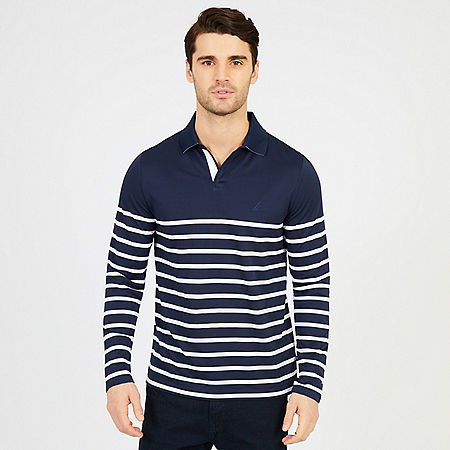 Long Sleeve Slim Fit Performance Polo