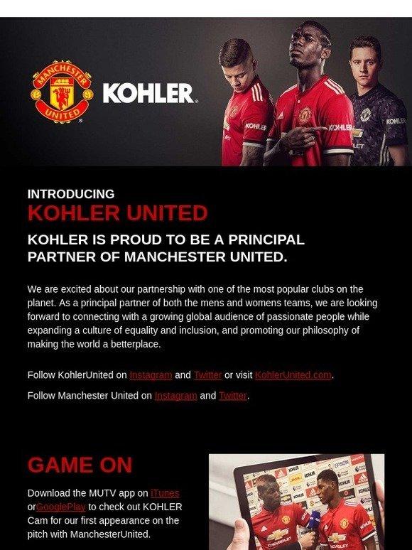 Kohler Announcing A Bold New Partnership Milled