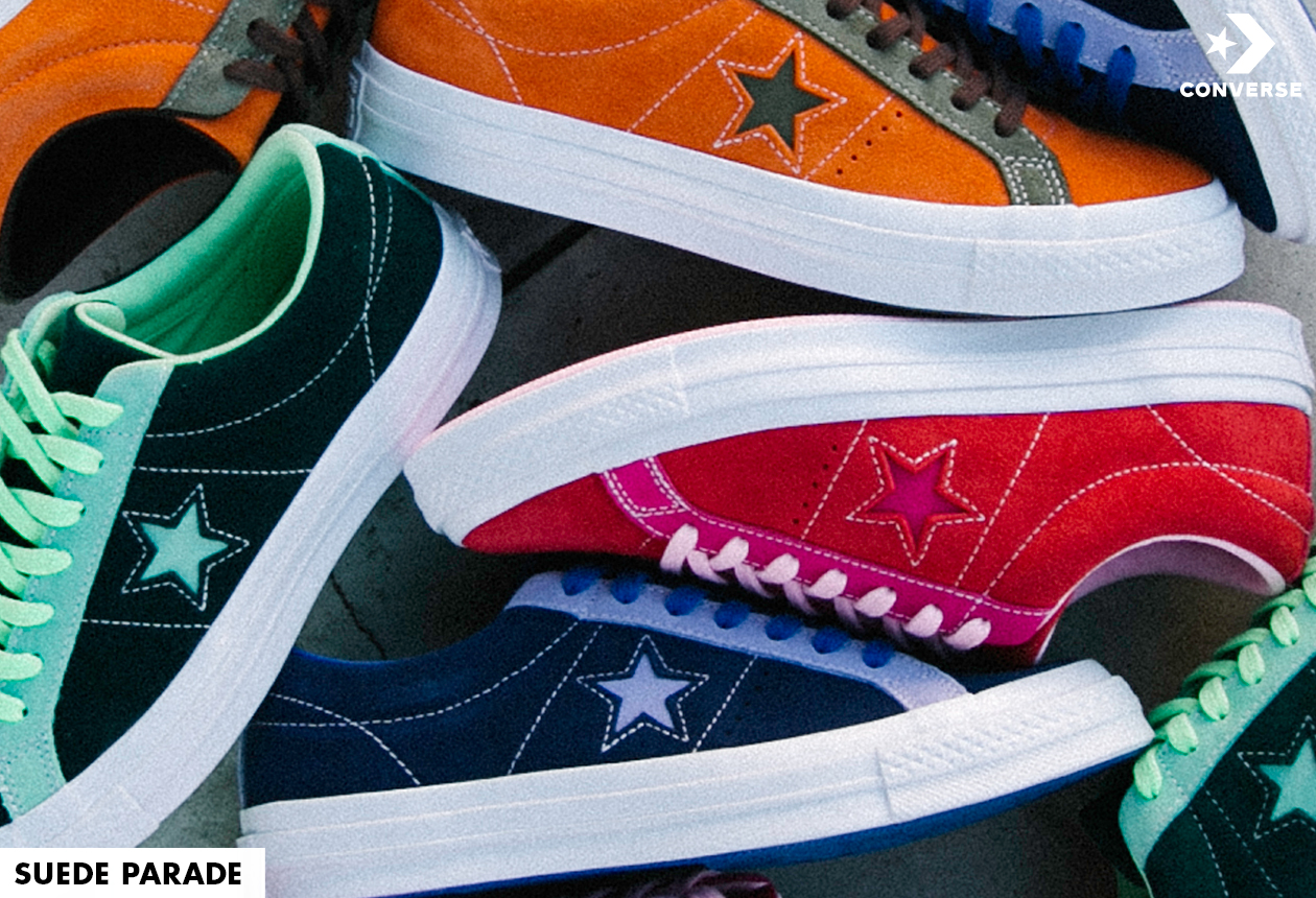 Let your hair down with the Converse One Star