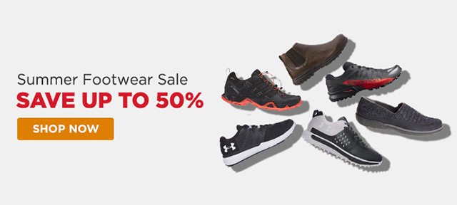 Summer Footwear Sale - Save up to 50%