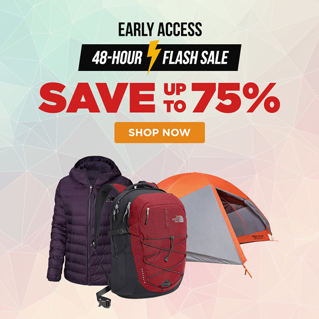 Early Access - 48 Hour Flash Sale - Save up ot 75% on select items