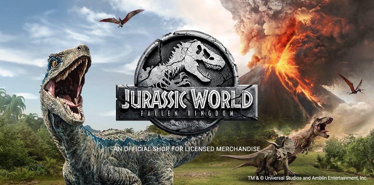 Get Your Official Jurassic World: Fallen Kingdom Gear!