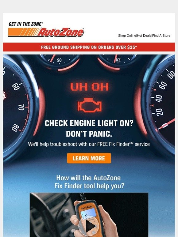 AutoZone: Troubleshoot With AutoZone Fix Finder | Milled