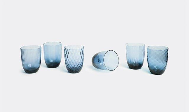'Idra' water glass, set of six for NasonMoretti