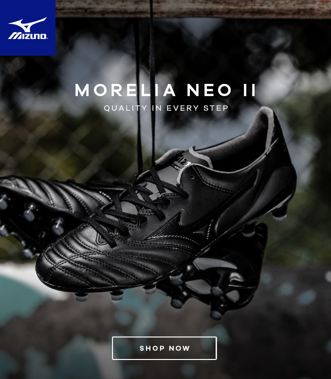 brand new 608c8 d24dc Lovell Soccer: ⚫ Introducing the Blackout Mizuno Morelia ...