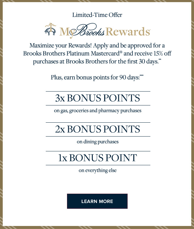 LIMITED TIME OFFER | MY BROOKS REWARDS | LEARN MORE